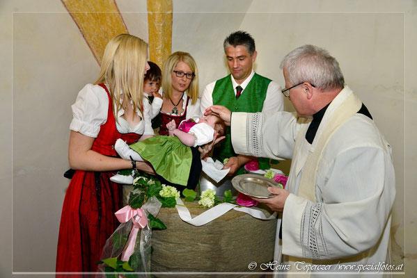 Tauffotografie Steiermark, Fotos von Taufe