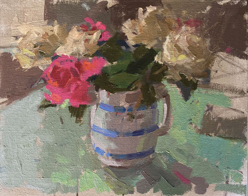Roses on the kitchen table (private collection)