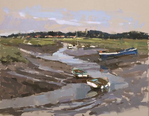 Low tide, Morston Quay