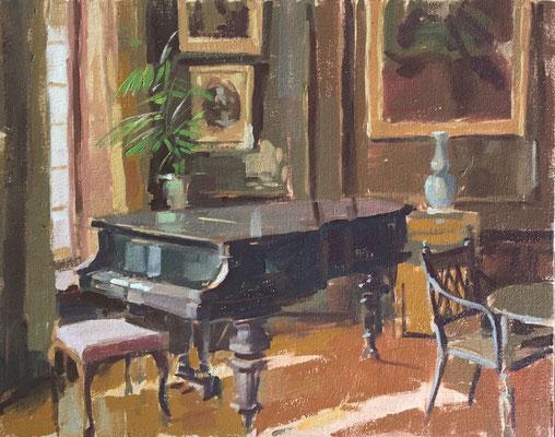 Music room, Gunby Hall