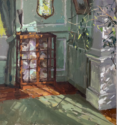 Morning light in the green room (SOLD)