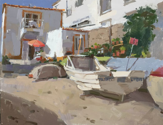 Burgau fishing village (private collection)