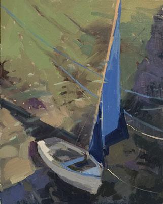 Blue sail (SOLD)