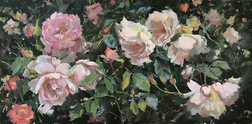 In the rose garden (SOLD)