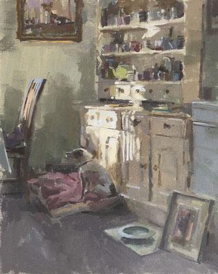 Kitchen dresser, morning
