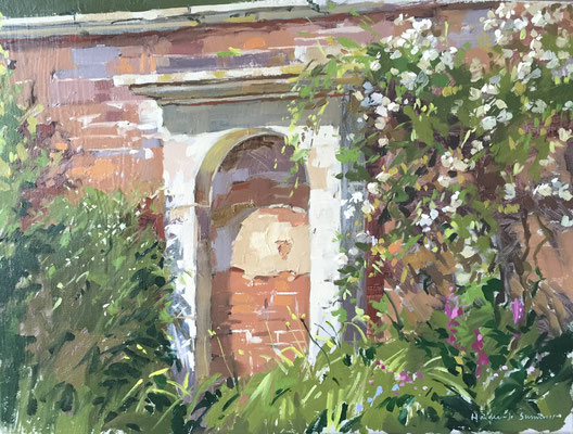 Walled garden at Belton (private collection)