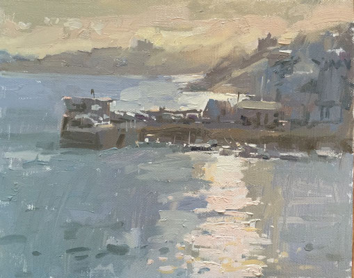 Evening greys, St Mawes (private collection)