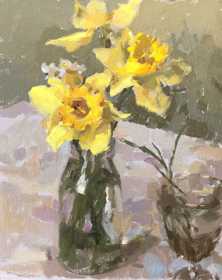 French garden daffodils (SOLD)
