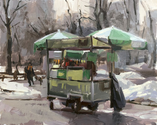 Hot dogs in Central Park (SOLD)