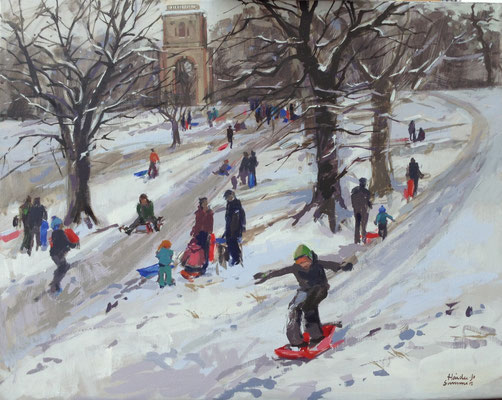 Sledgers at Belmont tower (SOLD)