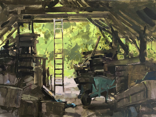 Something in the woodshed