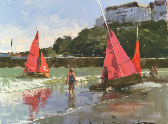 Redwings ashore