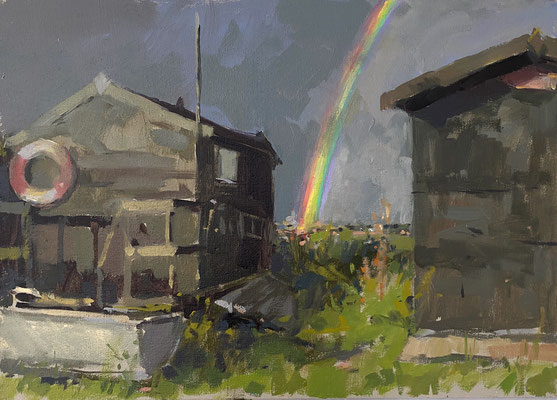After the rain, Blackshore