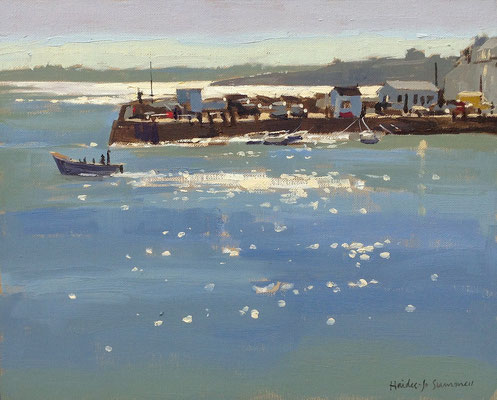 Sparkling light, St Mawes  (private collection)