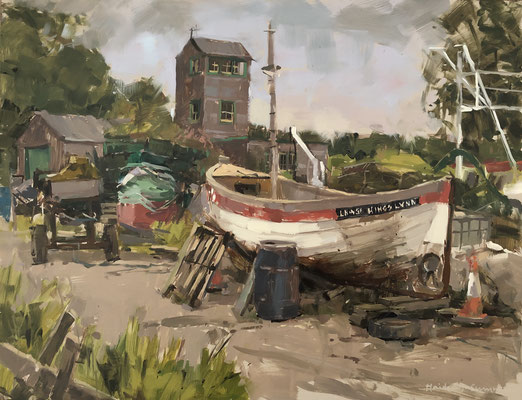 The lookout, Brancaster Staithe