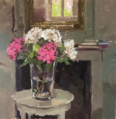 Hydrangeas at la Maison Douce (SOLD)