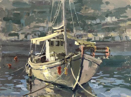 Fishing boat, Symi