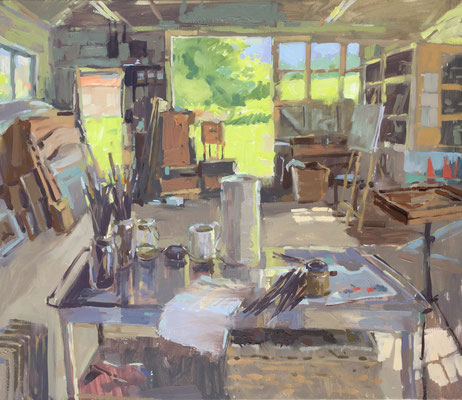 Studio in May (SOLD)