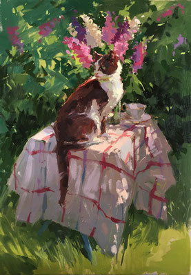 Lola on the table (SOLD)