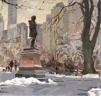 Shakespeare in Central Park (SOLD)
