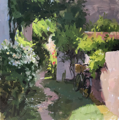 Fragrant pathway, île de Ré (SOLD)