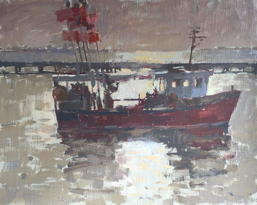 Harwich evening (SOLD)