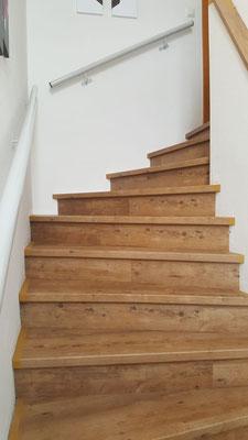 Classico Stufenauftritt gewendelt