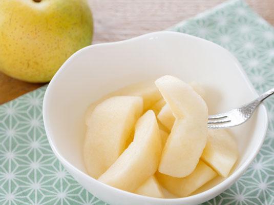 梨、痰を切りのどの痛みを和らげる漢方薬