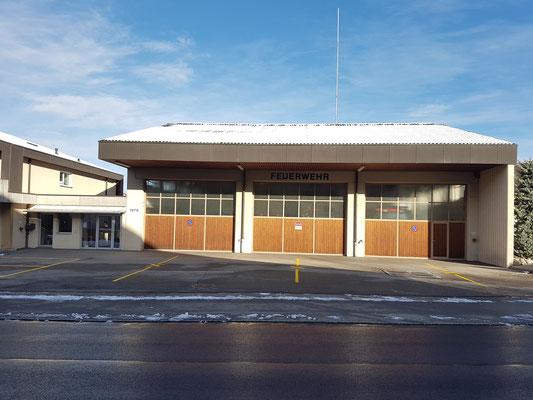 Oberer Teil und Eingang des FW-Lokales