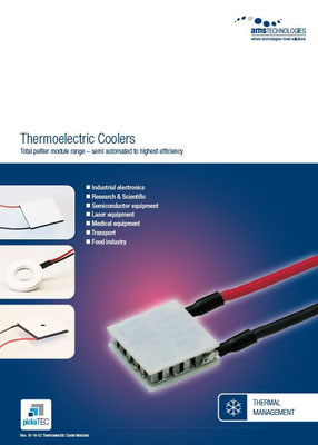 Thermoelectric Coolers  – Total peltier module range