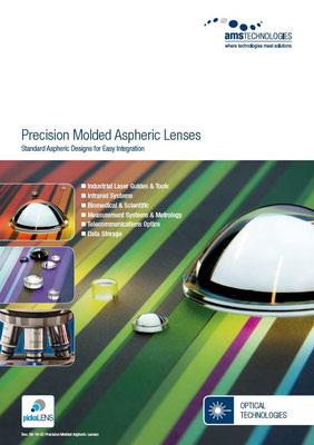 Molded Aspheres – Standard aspheric designs for easy Integration