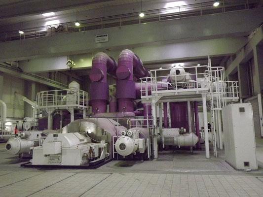 Turbine von Block 9