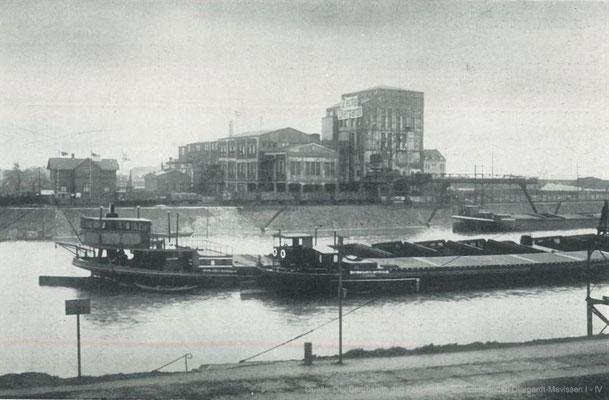 Die Aufbereitung am Parallelhafen