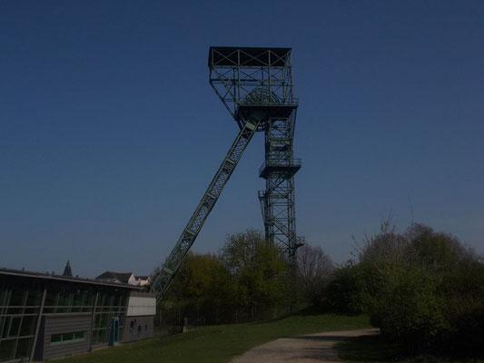 Das Industriedenkmal Schacht 6 heute.