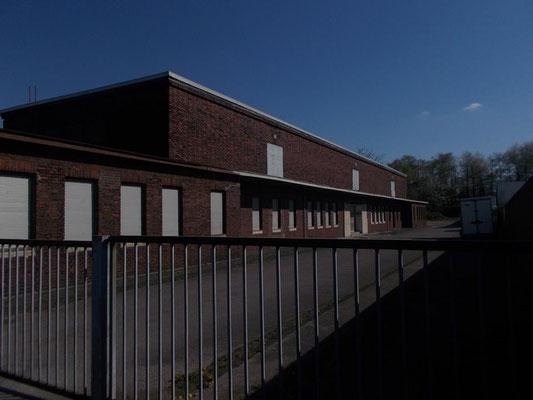 Ein ehemaliges Gebäude des Viehofs welcher sich kurz nach Abbruch der Tagesanlagen dort ansiedelte.