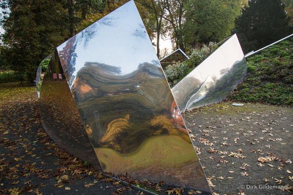 Metallskulpturen im Schloßpark