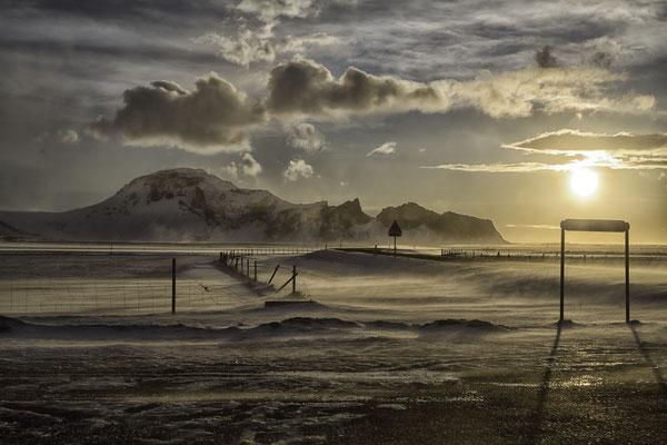 Morgens am Eyjafjallajökull