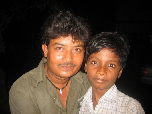 Goa - Vater mit Sohn