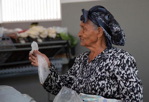 Marktfrau Sao Filipe