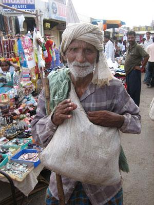 alter Mann in Goa