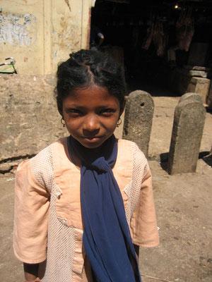 Bangalore - Mädchen wollte fotografiert werden