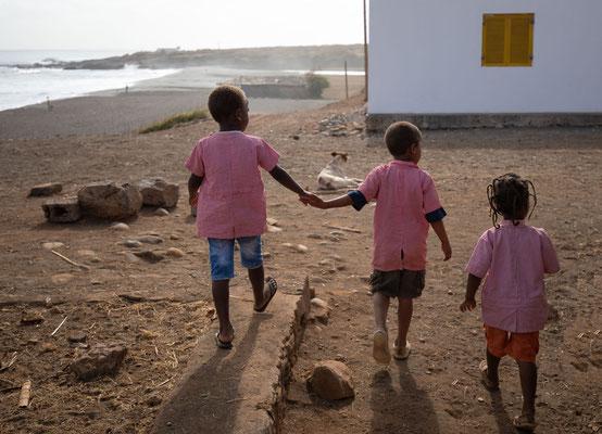 Pedra Badejo Kindergartenausflug
