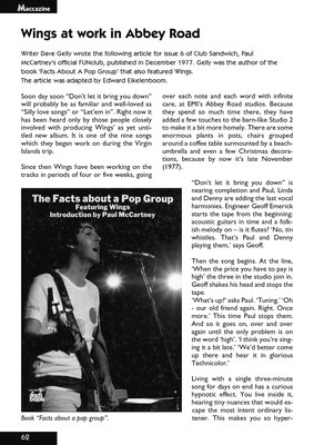 2005 33-2 London town - The best magazine about Paul mcCartney!