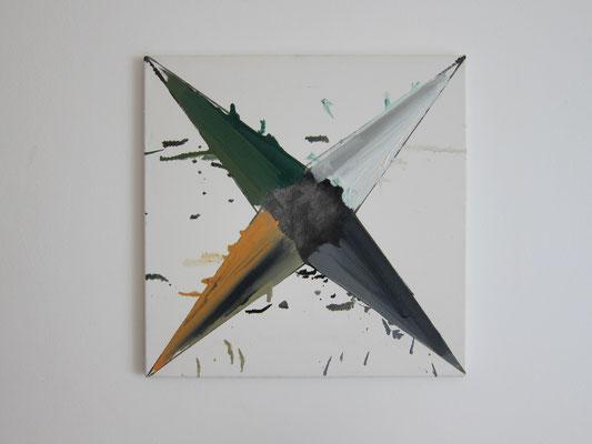 o.T., 50x50cm, Ö/L, 2017