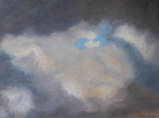 2013 Wolken Öl auf Leinwand 60x80 cm