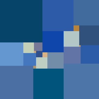 2016 Perfektes Quadrat 23-140x140 Digitaldruck auf Alu-Dibond 80x80 cm