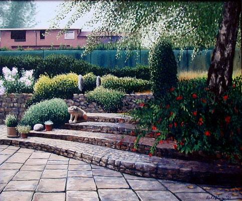 2001 Casa Becker Öl auf Leinwand  50x60 cm