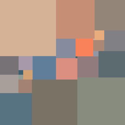 2016 Perfektes Quadrat 25-544x544  Digitaldruck auf Alu-Dibond 80x80 cm