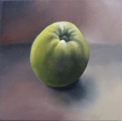 Volker Rohlfing, Hommage à Picasso, 2020 Öl auf Leinwand, 20x20 cm