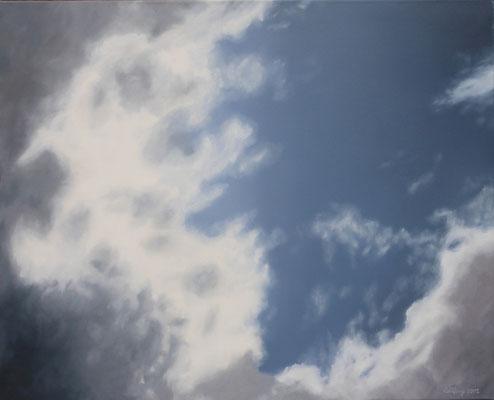 2012 Wolken 1 Öl auf Leinwand 80x100 cm